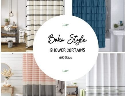 Boho Style Shower Curtains