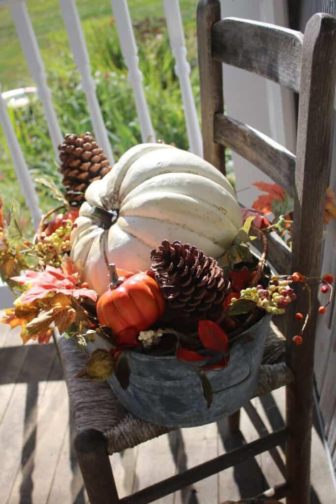 Fall Rustic Porch
