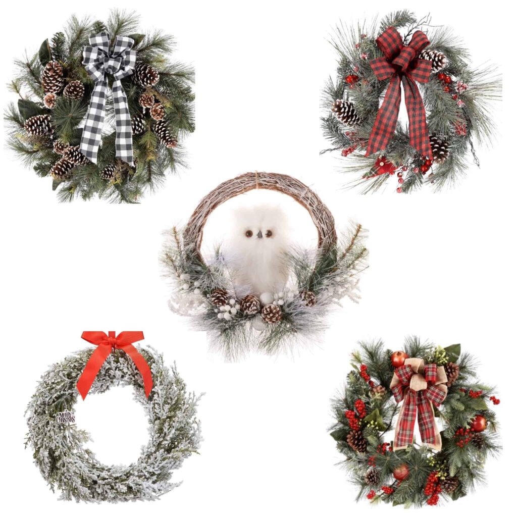 Walmart Christmas Wreaths
