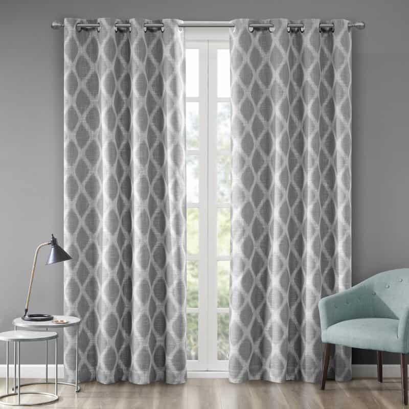 Hutton Printed Ikat Curtain