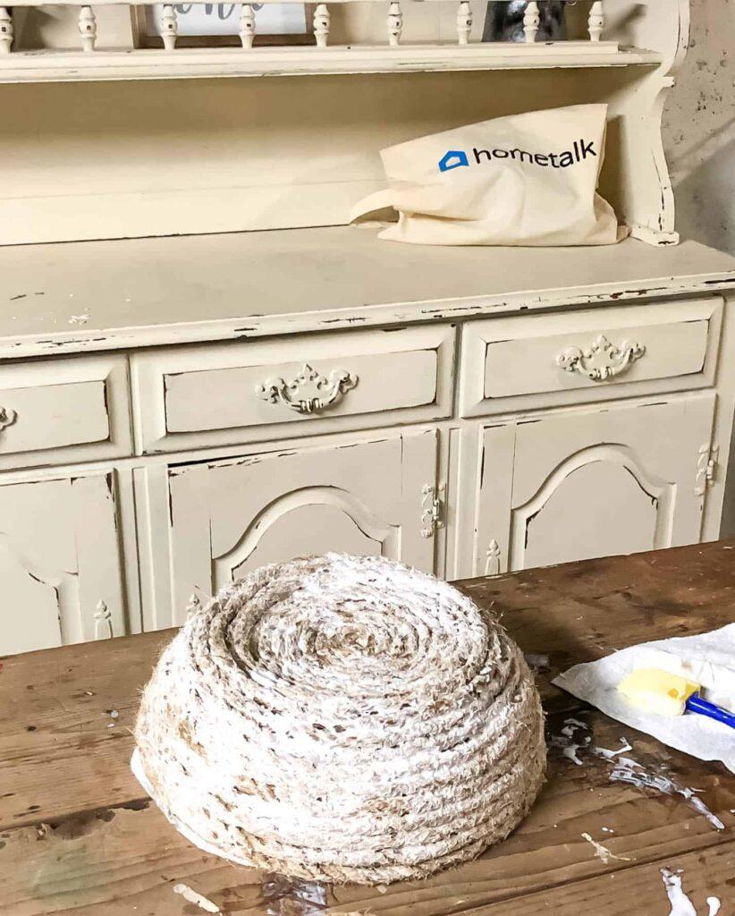 DIY Rope Bowl