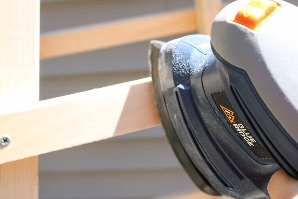 BLUE RIDGE TOOLS DETAIL SANDER