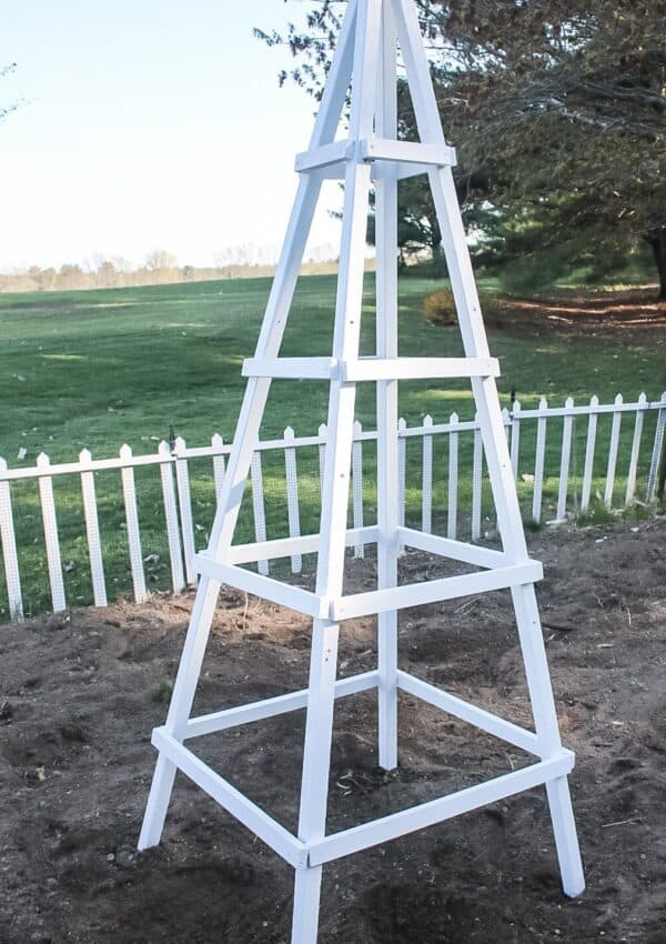 How To Build A Garden Obelisk