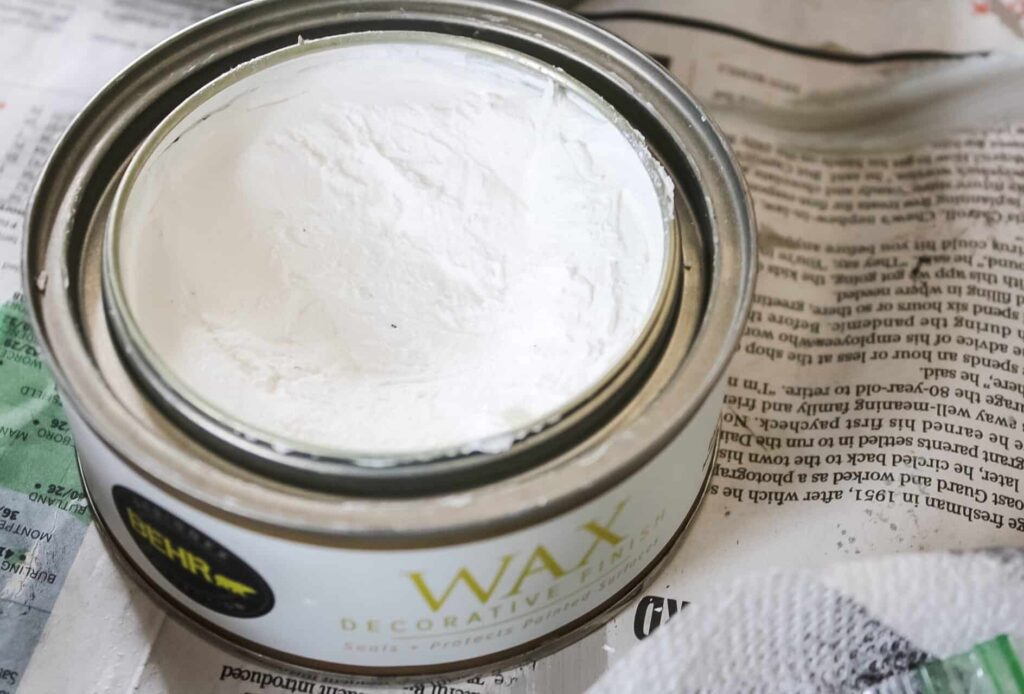 behr white wax