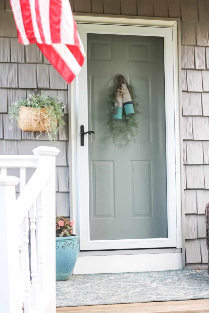 summer front porch decor