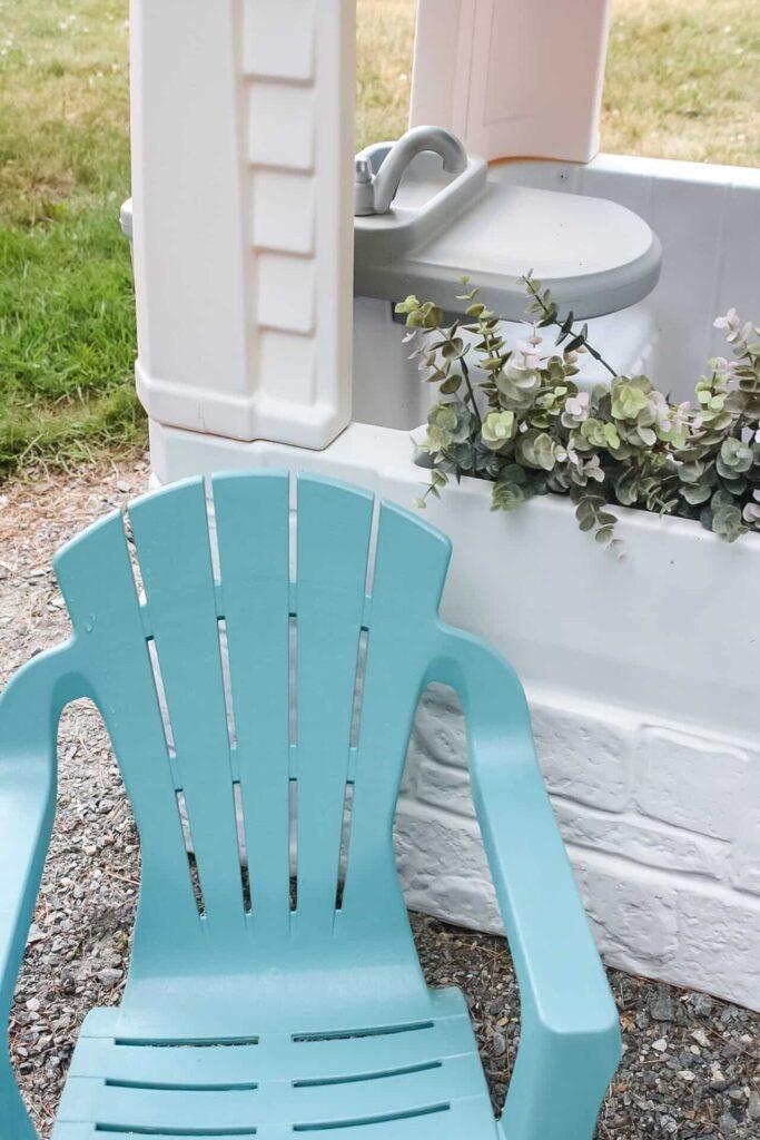matching adirondack chair