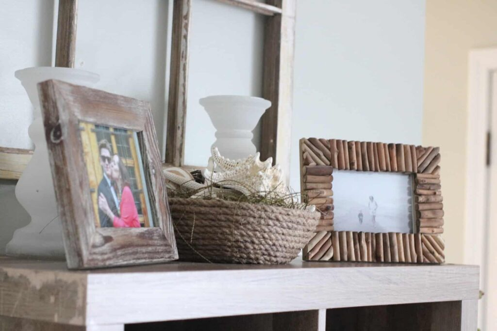 coastal shelf decor