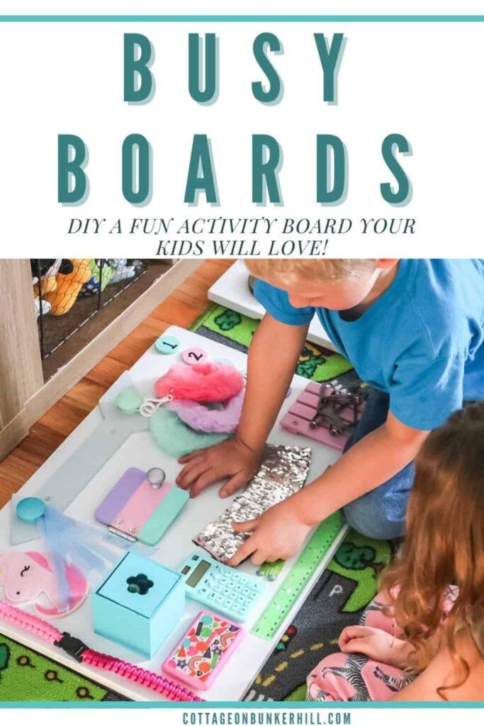 Busy board Pinterest