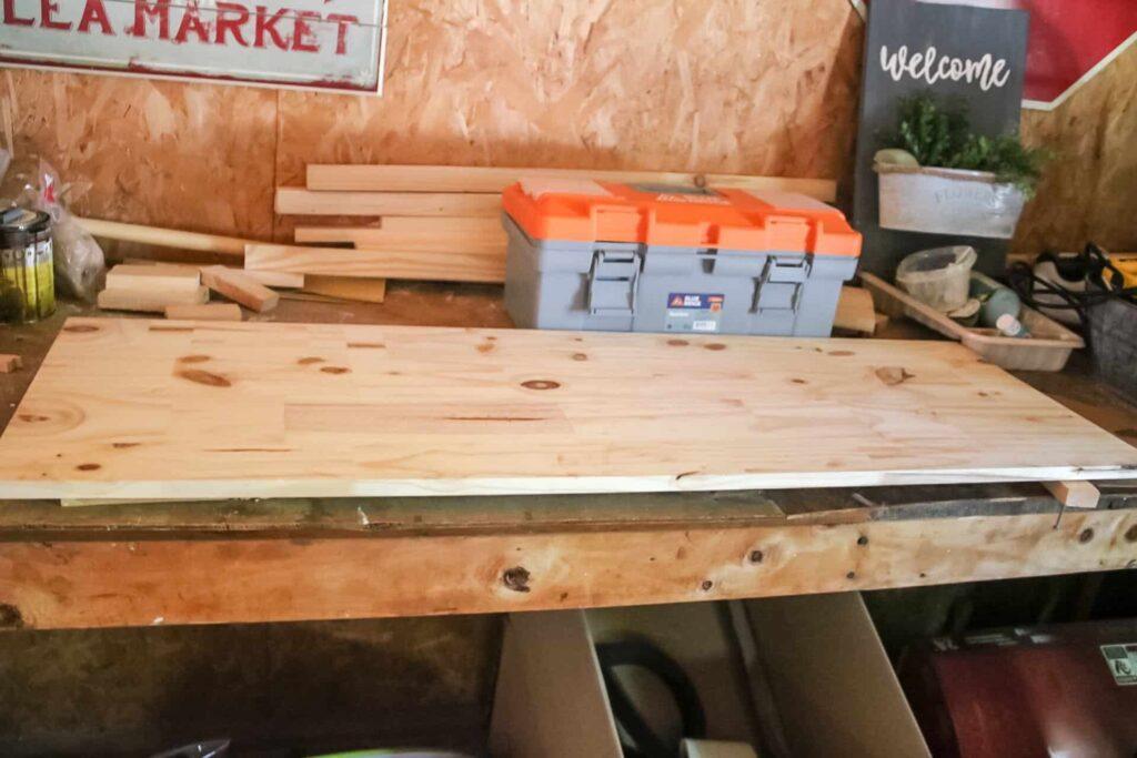 wood board for busy board