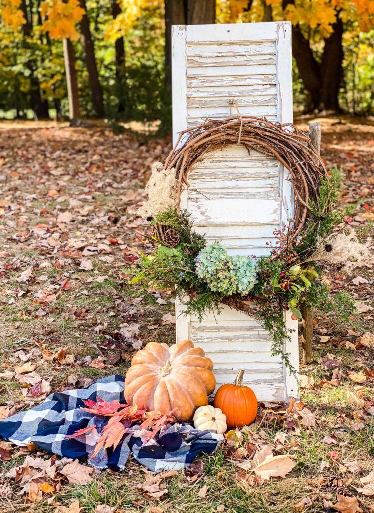 DIY Foraged wreath