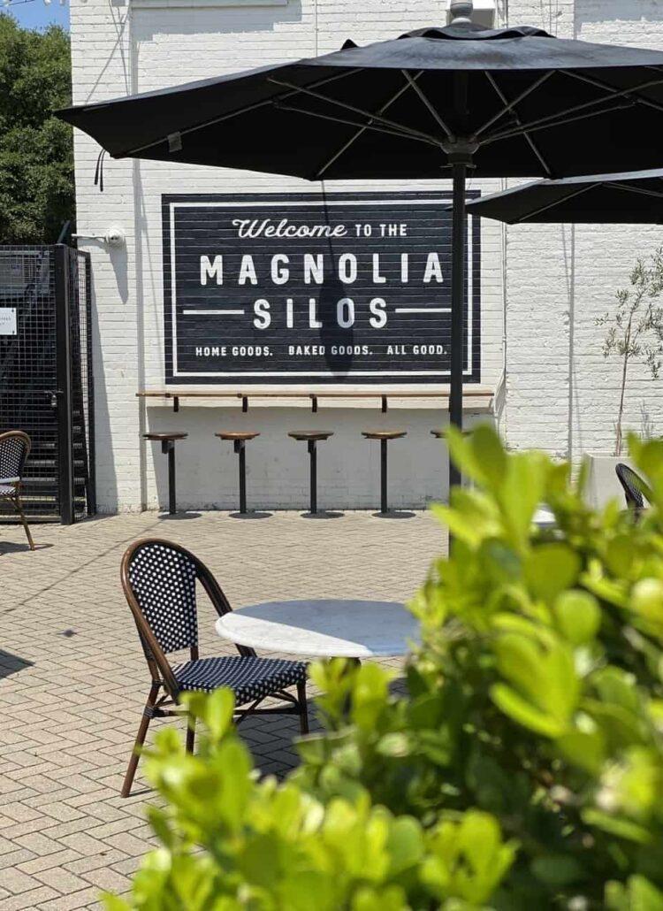 Magnolia Silos sign